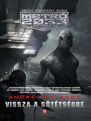 cover image of Vissza a sötétségbe