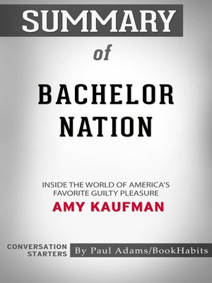 cover image of Summary of Bachelor Nation