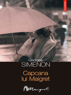 cover image of Capcana lui Maigret