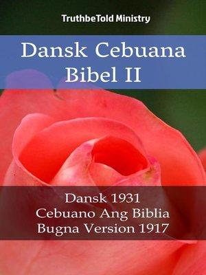 cover image of Dansk Cebuana Bibel II