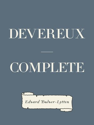 cover image of Devereux — Complete
