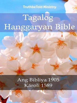 cover image of Tagalog Hanggaryan Bible