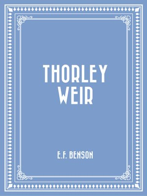 cover image of Thorley Weir