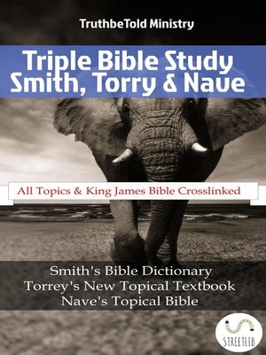 cover image of Triple Bible Study--Smith, Torrey & Nave