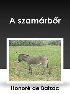 cover image of A szamárbőr
