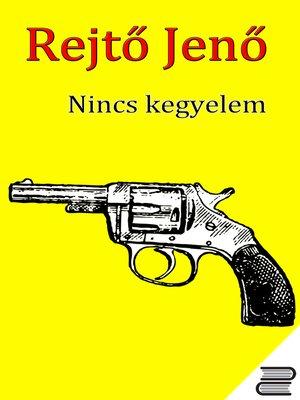 cover image of Nincs kegyelem