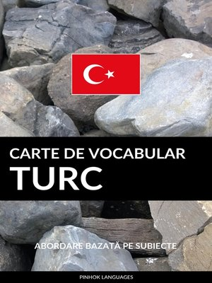 cover image of Carte de Vocabular Turc
