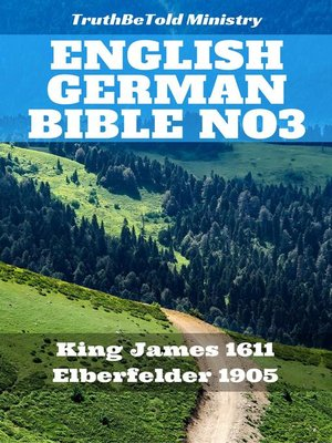 cover image of English German Bible No3
