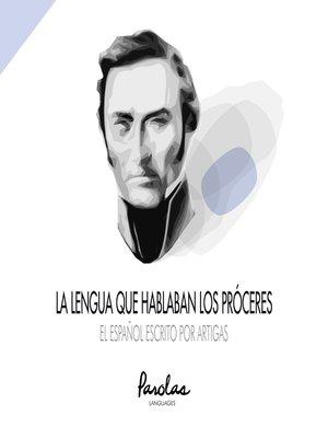 cover image of El español escrito por Artigas