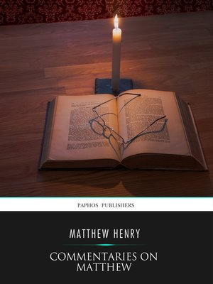 cover image of Commentaries on Matthew