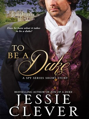 cover image of To Be a Duke