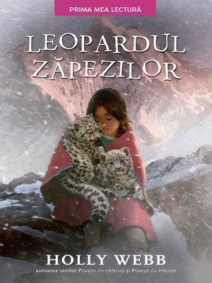 cover image of Leopardul zapezilor