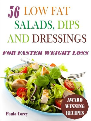 cover image of 56 Low Fat Salads, Dips and Dressings
