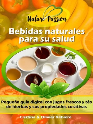 cover image of Bebidas naturales para su salud
