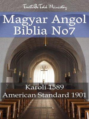 cover image of Magyar-Angol Biblia No7