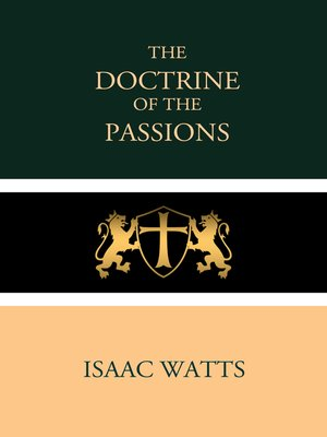 cover image of The Doctrine of the Passions