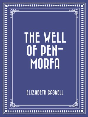 cover image of The Well of Pen-Morfa