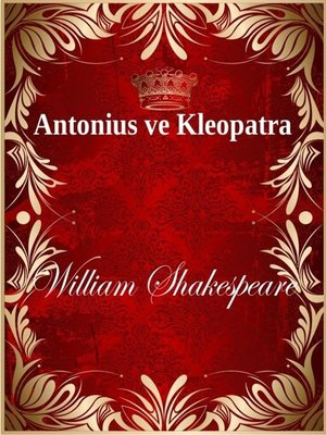 cover image of Antonius ve Kleopatra