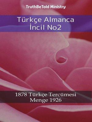 cover image of Türkçe Almanca İncil No2