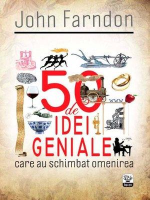 cover image of 50 de idei geniale
