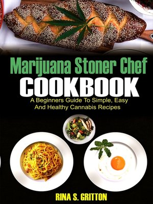 cover image of Marijuana Stoner Chef Cookbook