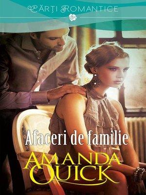 cover image of Afaceri de familie