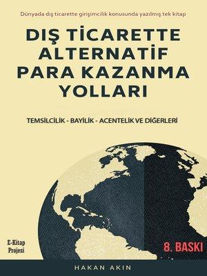 cover image of Dış Ticarette Alternatif Para Kazanma Yolları