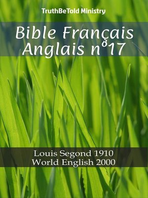cover image of Bible Français Anglais n°17