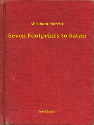 cover image of Seven Footprints to Satan