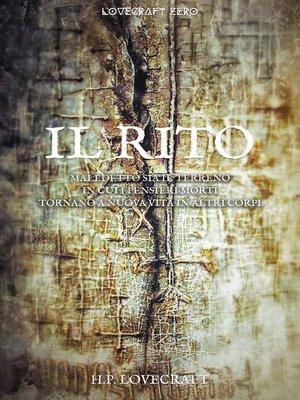 cover image of Il rito