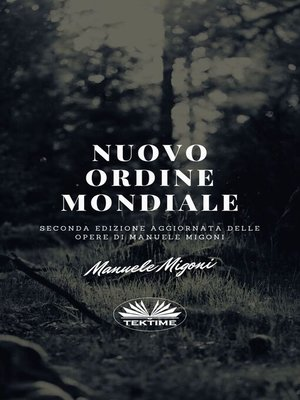 cover image of Nuovo Ordine Mondiale