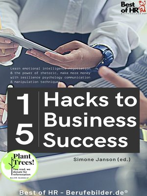 cover image of 15 Hacks to Business Success