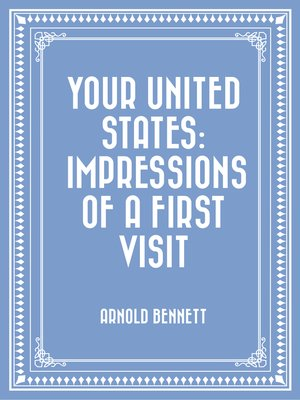 cover image of Your United States: Impressions of a First Visit
