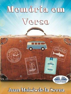 cover image of Memória Em Verso