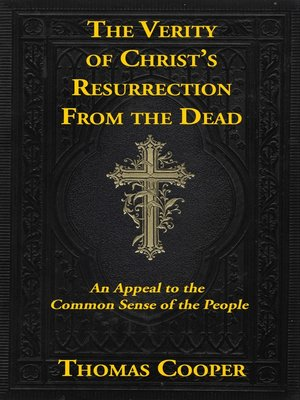 cover image of The Verity of Christ's Resurrection