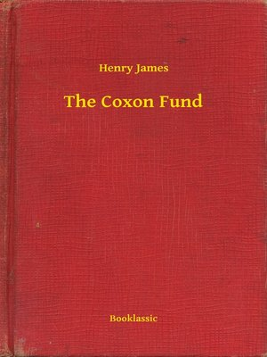 cover image of The Coxon Fund