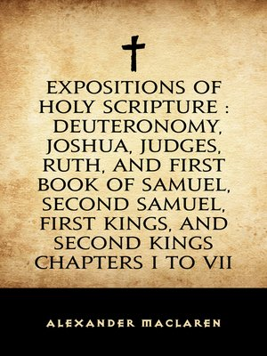 cover image of Expositions of Holy Scripture: