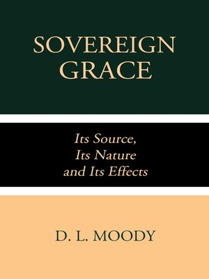 cover image of Sovereign Grace
