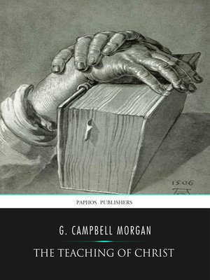 cover image of The Teaching of Christ