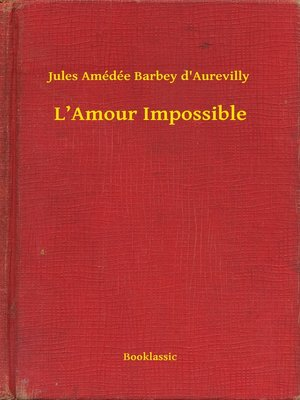 cover image of L'Amour Impossible