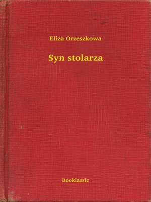 cover image of Syn stolarza
