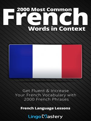 cover image of 2000 Most Common French Words in Context