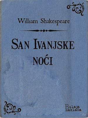 cover image of San Ivanjske noći