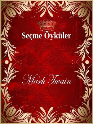cover image of Seçme Öyküler