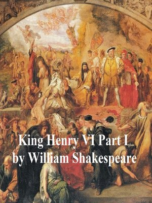 cover image of Henry VI Part 1, with line numbers