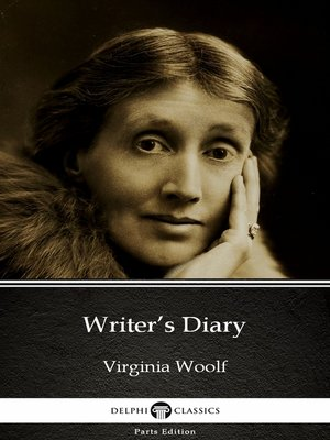 cover image of Writer's Diary by Virginia Woolf