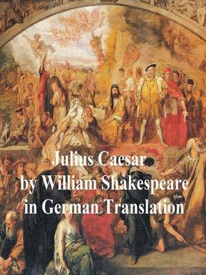 cover image of Julius Caesar in German Translation