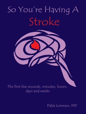 cover image of So You're Having a Stroke
