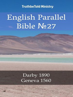 cover image of English Parallel Bible No27