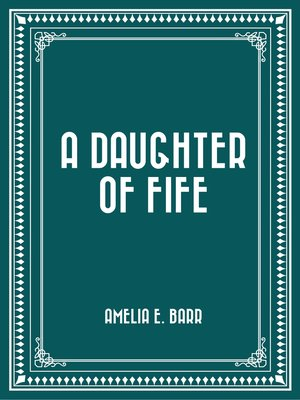 cover image of A Daughter of Fife